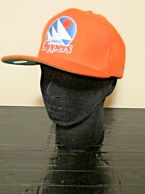 NBA San Diego Clippers OSFA HWC Throwback WOOL Snapback Cap by Mitchell & Ness