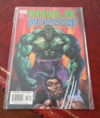 Hulk Wolverine Six Hours Comic - issue 3