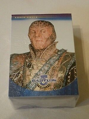 Babylon 5, Tradingcards, Profiles, Complete Basic Set of 100 cards