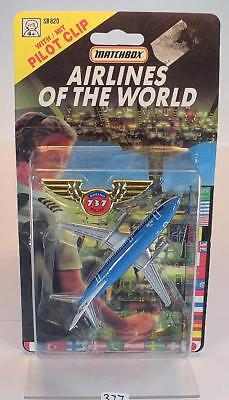 Matchbox Airlines of the World Nr. SB820 Boing 737 KLM OVP #377