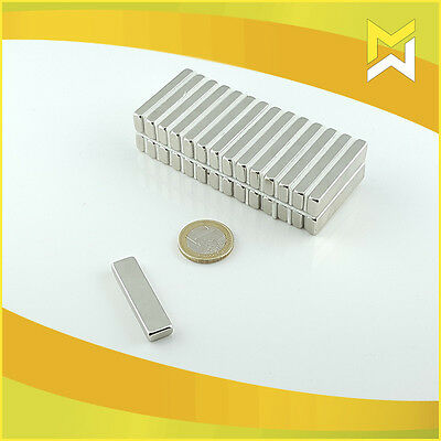 Neodymium Magnets Cuboid Goods N45 Quantity and Size Selectable
