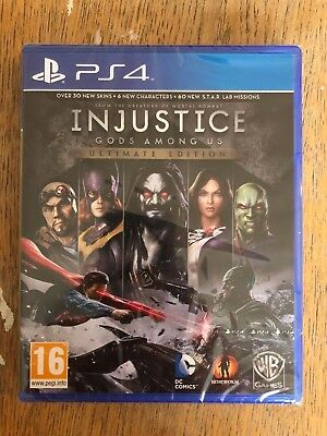 Injustice: Gods Among Us - Playstation - PS4 - Brand New & Sealed