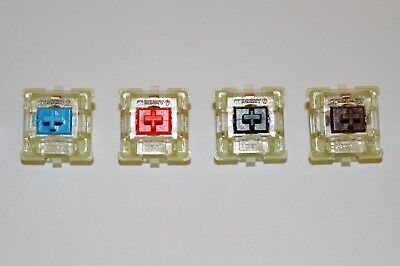 New Cherry MX RGB Red, Blue. Black, Brown Replacement Mechanical Keyboard Switch