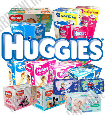 Huggies Ultra Dry Nappies / Ultimate Nappy Pant / DryNites Pyjama / Baby Wipes