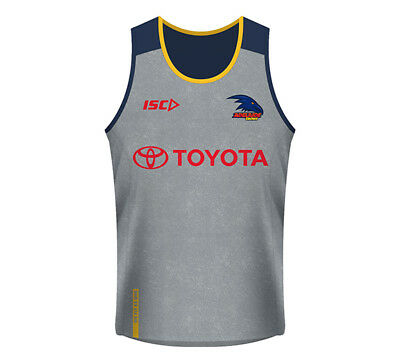 New Adelaide Crows Training Singlet 2018 Mens Supporter-Gear
