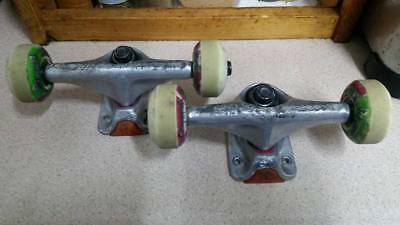 Tensor Trucks with Plan B wheels, Bones Swiss bearings & 7/8 hardware