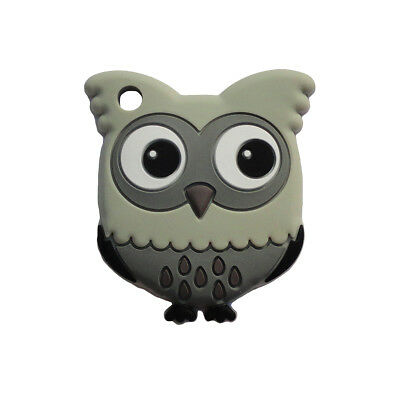 Great Gift!  Adorable Gray Owl Baby Teether Toy
