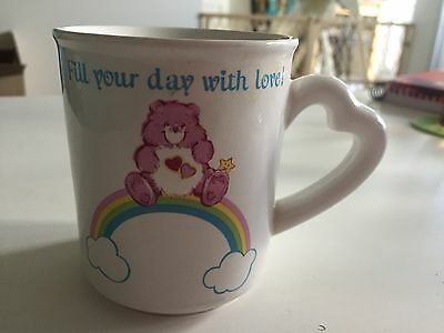 Vintage Care Bears Mug Love A Lot Bear