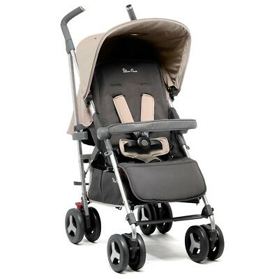 Silver Cross Reflex Pushchair Sand Suitable From Birth Up To 25kg Damaged Box