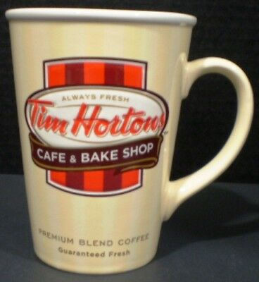 Tim Hortons Mug Cafe and Bake Shop Cream Limited Edition 2012