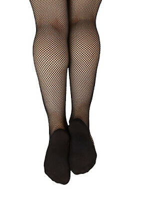 Capezio Women's Professional Black Fishnet Tights - Size X-Large