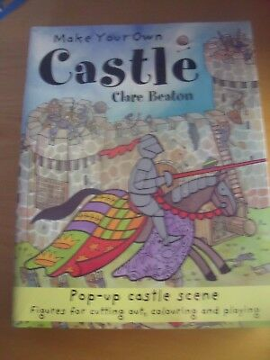 NEW 10 x Make Your Own Castle Pirate Ship Pyramid Rainforest etc -Clare Beaton