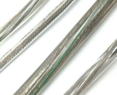 2 or 3 core PVC transparent clear electrical cable flex wire 0.50mm to 0.96mm