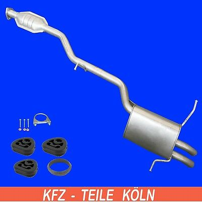 Mercedes (CL203) C Class Coupe Agent + Muffler Exhaust System