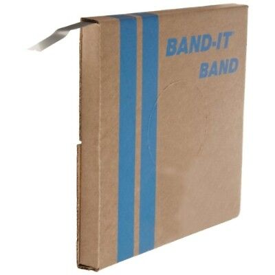 "BAND-IT VALU-STRAP Band C13699, 200/300 Stainless Steel, 3/4"" wide x 0.015"" thic"
