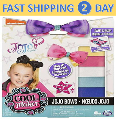 Cool Maker JoJo Siwa Bow Maker Spin Master Kids Hot Christmas Toy Gift In Hand