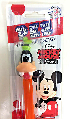 NEW PEZ Dispenser Disney Mickey and Friends GOOFY Candy Lemon Raspberry Cherry