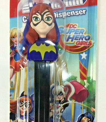 NEW PEZ Dispenser DC Super Hero Girls BATGIRL with Candy Grape Raspberry Lemon