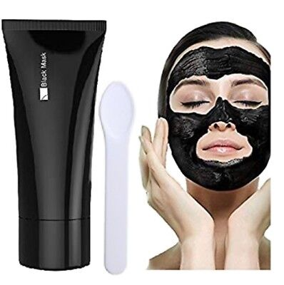 Blackhead Remover Mask Peel Off Black Head Treatments Face Cleaning Mask + Spoon