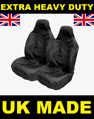 MERCEDES CLA 2013 ON Heavy Duty Black Waterproof Car Seat Covers  Front Pair