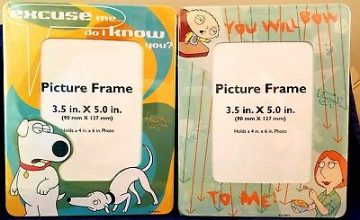 "FAMILY GUY PICTURE FRAME PHOTO BRIAN THE DOG ""DO I KNOW YOU?"" FITS 4x6  RIX"