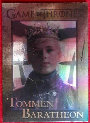 GAME OF THRONES - TOMMEN BARATHEON - Season 4 - FOIL PARALLEL Card #89