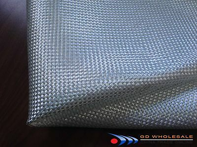 "28/"" wide in 5/' feet length Best quality 140g Fiberglass Cloth Plain Weave 4.1oz"