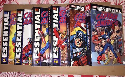 Marvel Essential: Captain America Vol: 1-6 Trade Paperback VG