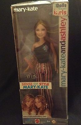 Mary-Kate and Ashley Dolls - 'MARY-KATE' - Sense of Style BNIB 2003