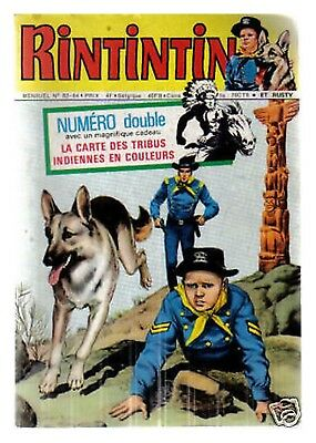 RINTINTIN N°  63/64  DE 1975 BE double EA