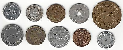 10 old tokens