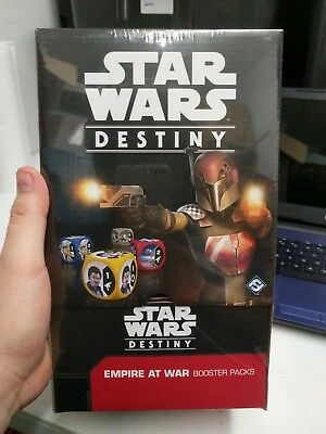 Star Wars Destiny Empire at war Sealed Booster Box