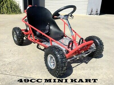 2017 Brand New 49cc Mini Go Kart 4 Wheeler Kids 2 Stroke Buggy Quad Atv Blue