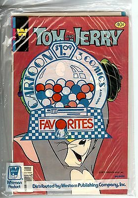 Whitman 3 Pack Sealed Mighty Mouse Tom & Jerry Porky Pig 1980 Mint