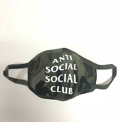 Auth Anti Social Social Club ASSC Medical Face Mask in stock BAPE supreme Kith