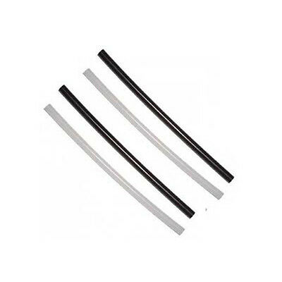 4x P-tex Ptex stickes rods candles Black clear repair Ski Snowboard bases NEW