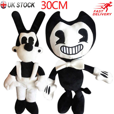 Bendy and the ink machine Bendy and Boris Toy Figure Plush Doll Christmas Gifts
