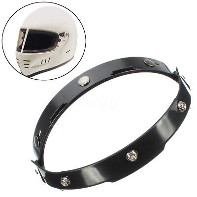 Black Adapter Flip Up Base Attachment For 3 Snaps Bubble Shield Visor Face Mask