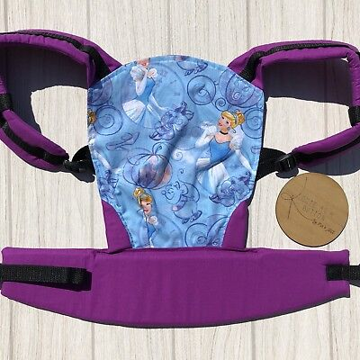 Doll Carrier- Mini Soft Structured Carrier - Cinderella