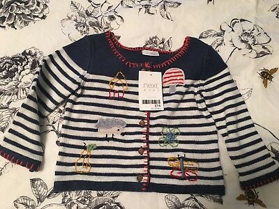 NWT Next Baby Girl Cardigan 9-12months