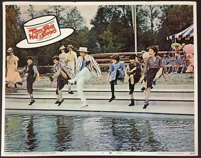 Tommy Steele dancing by pool with kids Half a Sixpence 1968 # 3 lobby card 1588