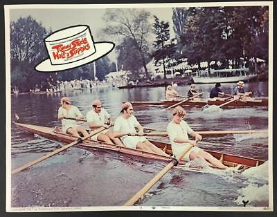 Tommy Steele at the boat race Half a Sixpence 1968 # 5 lobby card 1590