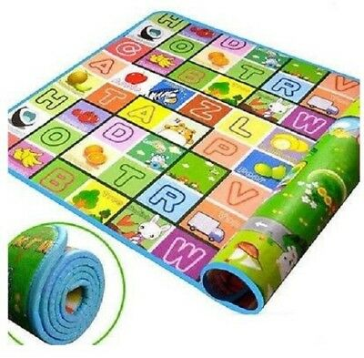 Baby Play Game Crawling Mat Toddler Alphabet Soft Foam Carpet Kids Xmas Gift New