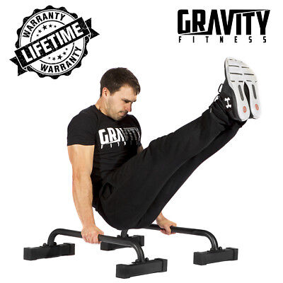 Gravity Fitness Low Parallettes for Crossfit, Calisthenics, Gymnastics