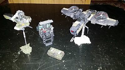 Mega bloks Call of Duty Command Post,Attack Wraith,Hover Bike,Icarus Troops etc