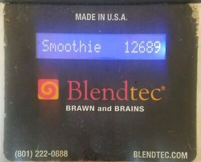 Blendtec K-Tec ICB3 Smoother AND Shroud AND Base - Commercial Grade
