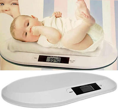 New Digital Electronic Weighing Scales Baby Infant Pet Bathroom 20KGS/44LBS MAX