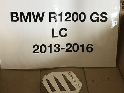 BMW R1200GS 2013 TO 2016  Wunderlich Exhaust Flap Protector