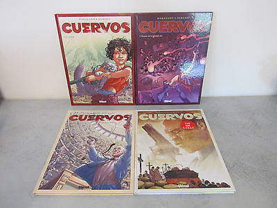 CUERVOS (MARAZANO & DURAND) TOME 1 à 4 GLENAT COLLECTION GRAFICA - CYCLE COMPLET