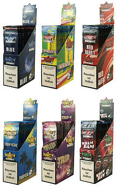 6 Boxen (150 Pck/300 Blunts) Juicy Jay's Double Blunts aromatisiert flavoured